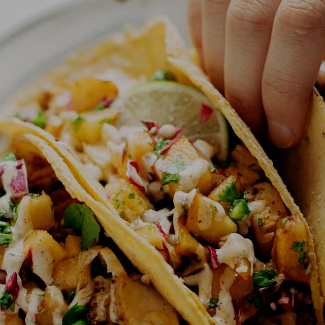 """""""Chili Lime Fish Tacos - these are so easy, it will blow your mind. 5 basic ingredients for the f..."""