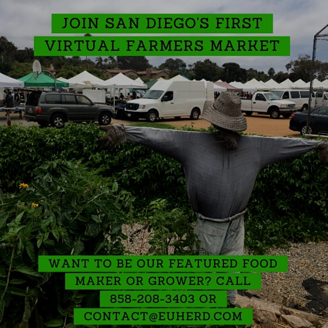 """SAN DIEGO'S FIRST VIRTUAL FARMERS MARKET FOR UGLY AND EXCESS PRODUCTS
