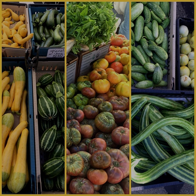 #KnowYourFarmer  Oh boy some amazing produce available now! From left: Four different types of sq...