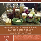 Join the Amagansett Food Institute to learn about the applications and health benefits of fermentation. Nadia Ernestus, fermentation expert and owner of Hamptons Brine, will host this workshop at the Amagansett Farmers Market on Sunday, September 4th at 1:00 p.m. She will demonstrate how to make spicy sauerkraut and will discuss the many health benefits of incorporating fermented foods into your diet. Tickets are $45 and include all materials and supplies to follow along and make your own spicy kraut in this hand-on workshop. Tickets are available for purchase online here: https://amagansettfood.yapsody.com/event/index/47067/fermentation-with-a-kick. Contact info@amagansettfoodinstitute.org for more information.