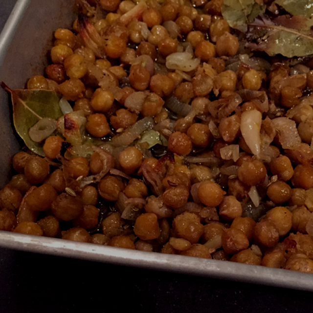 Not only are garbanzo beans delicious, they're also chock-full of protein and fiber. This vegan r...
