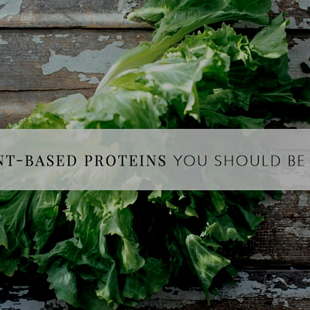 The stigma has always been - if you want to be vegetarian, you won't get enough protein. This lis...
