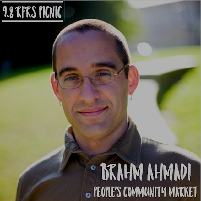 Join Real Food Real Stories and food activist Brahm Ahmadi in celebration of the forthcoming Peop...