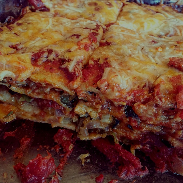 A perfect lasagna to pair with your garden bounty! #KnowYourFarmer