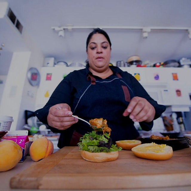 """For years, Joshna Maharaj has set her sights on improving the dreary menus of hospitals, prisons..."