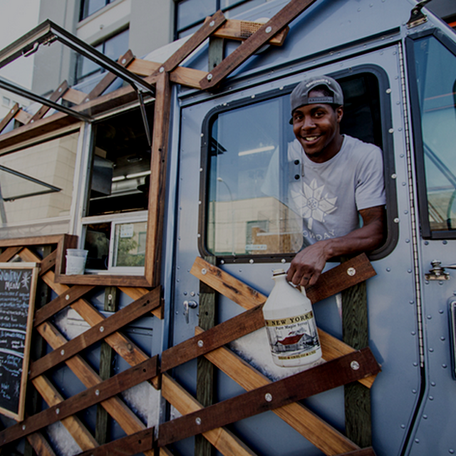 """The Snowday food truck, and its parent group, Drive Change, are providing a path to work for a p..."