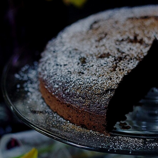 Spiced Chocolate Chestnut Cake inspired by Scorpio season! On the blog now- Foodbymars.com