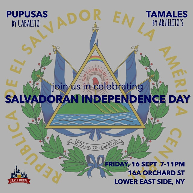 Pupusas, Tamales, and more!