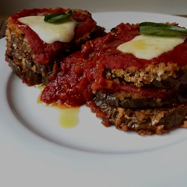 Yesterday was tough, but this eggplant lunch today demanded my full attention. As a result, I onl...
