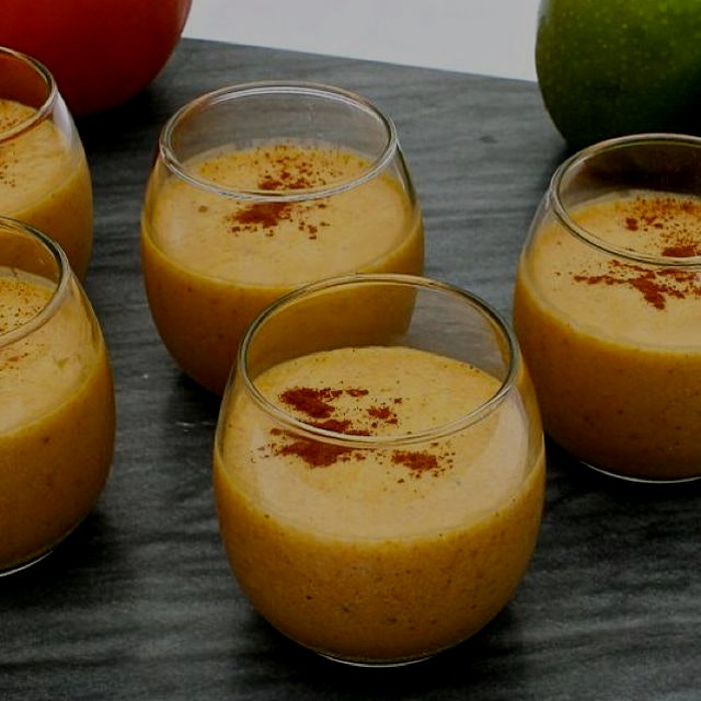 Apple Pumpkin Fall Smoothie from Great Food and Lifestyle is one of my favorite breakfasts or sna...