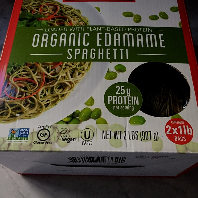 A great way to feel like you're eating pasta but to actually be eating 25 grams of protein and a ...