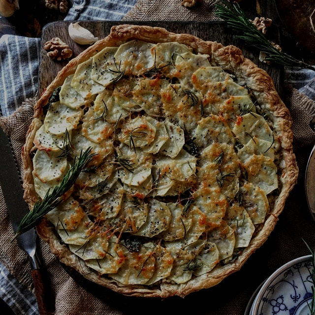 """If I could put some of my all time favourite savoury flavours in a tart, it would taste like thi..."
