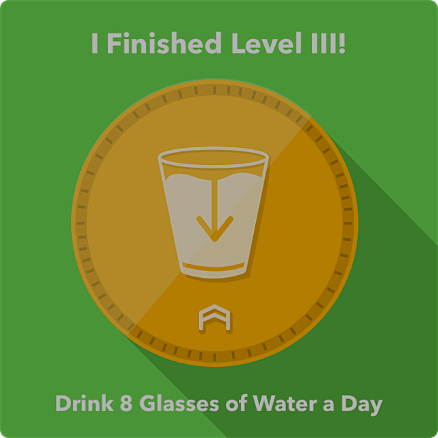 Such a hard challenge! But I figured drinking 4 16oz glasses in the day made it much easier for me😊
