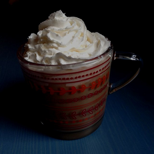 Vegan Pumpkin Latte w/ Coconut Whip - drink recipe in our next book Mastering the Art of Vegan Co...