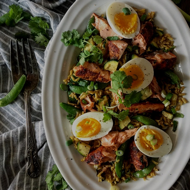"""I always thought Kedgeree was a funny little name for a dish that I enjoyed when I was in Englan..."