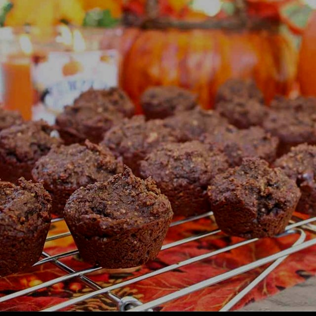 Paleo Chocolate Pumpkin Cookies are rich, delicious, and healthy! Search for them at the link in ...