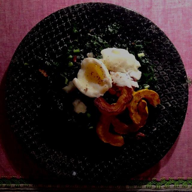 Sunday night egg