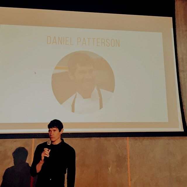 Great opening remarks from Daniel, who opened Locol, a fast food restaurant trying to make good f...