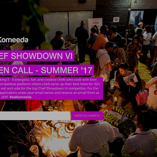 """Komeeda hosts its SIXTH Chef Showdown competition in NYC! We're seeking hard-working, talented, ..."
