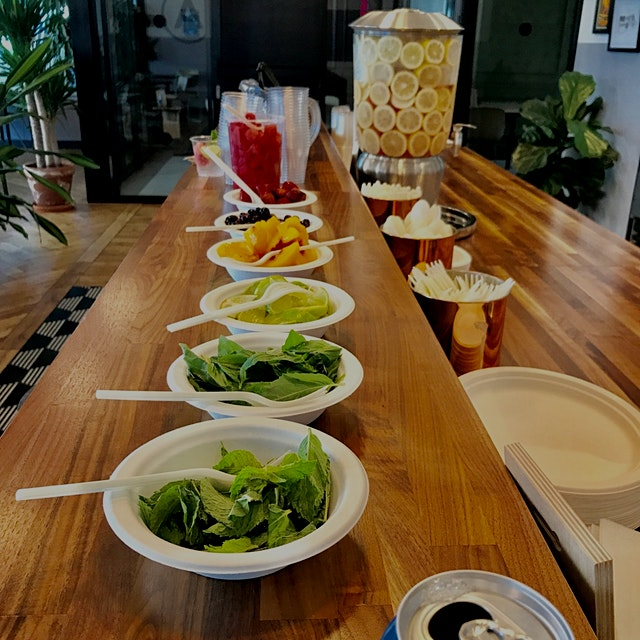 We hosted a make your own soda workshop today - sparkling water mixed with your favorite combo of...