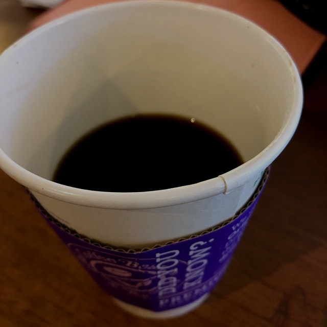 Never thought I could drink black Café without sugar.. but now.. I cannot drink with sugar!! It t...