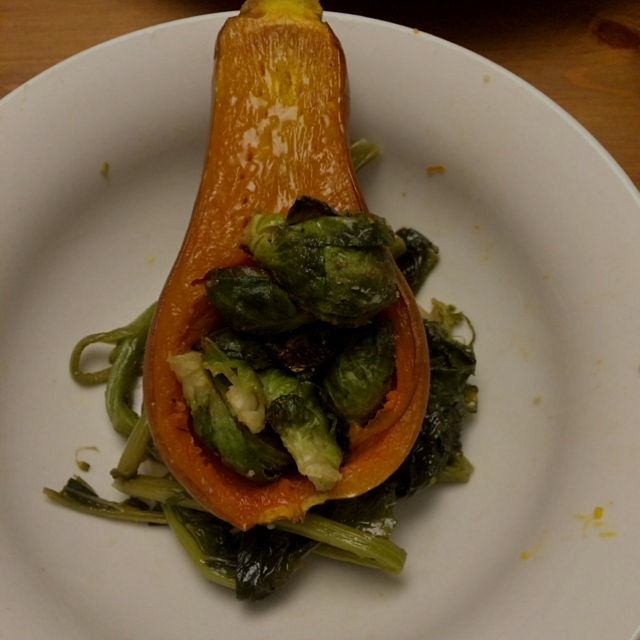 Last nights farmigo vegetables!