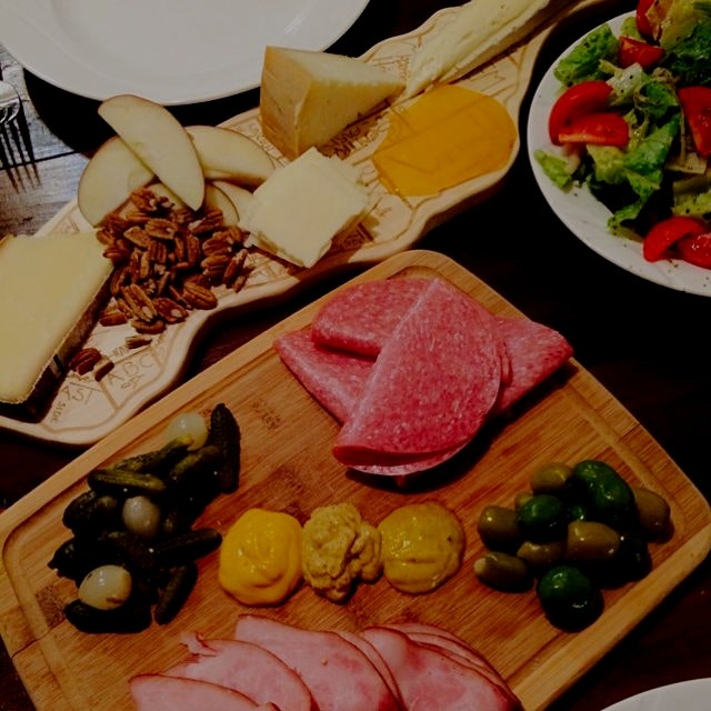 It's a cheese plate night!!