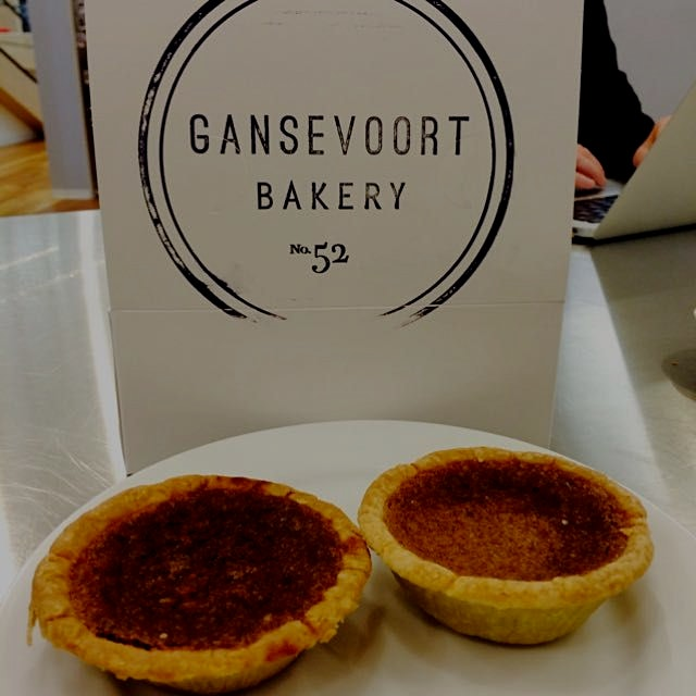 @brotherhas came for a visit and brought his delish bean pies (like pumpkin pie)- a traditional d...