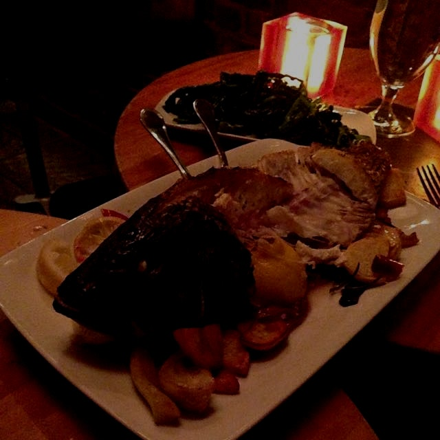 @ Hearth - simple and delicious Montauk sea bass