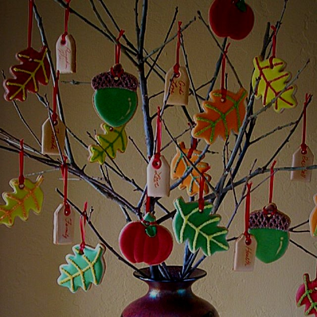 We made a Thankful Cookie Tree for Thanksgiving! What are you thankful for? I'm thankful that I h...