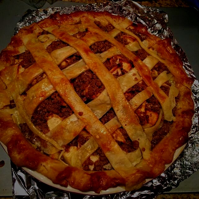 Family activity with Grammy? Bake an apple pie.