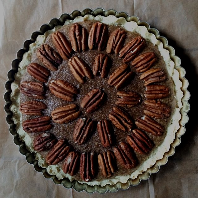 #whatsinyourfood This pecan tart was a hit! Working on getting it blogged up!