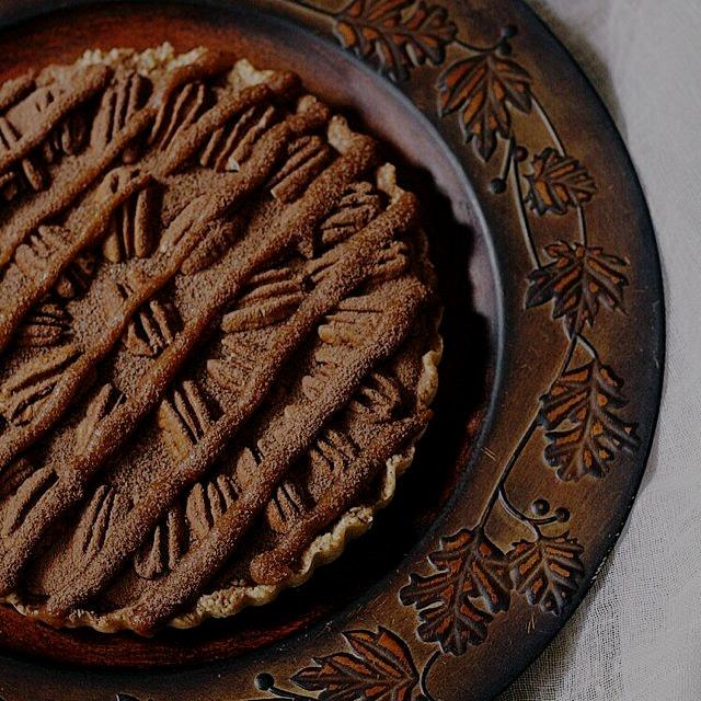 Gluten-free Pecan Tart recipe on the blog! http://bit.ly/1vxHlMZ