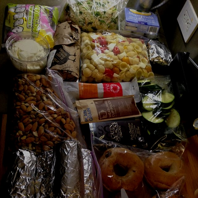 Foodstuffs for camping; untagable!