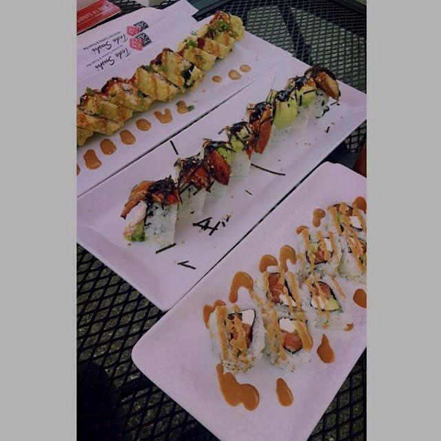 Sushi! My favvvvvv(;