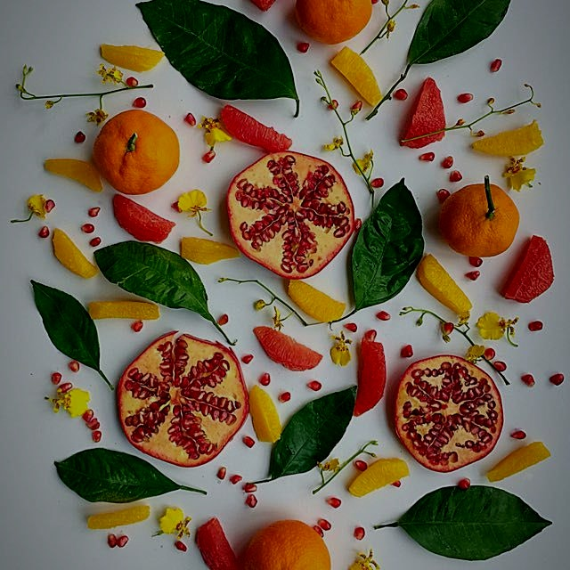 I love the colors of winter fruit! Do you?