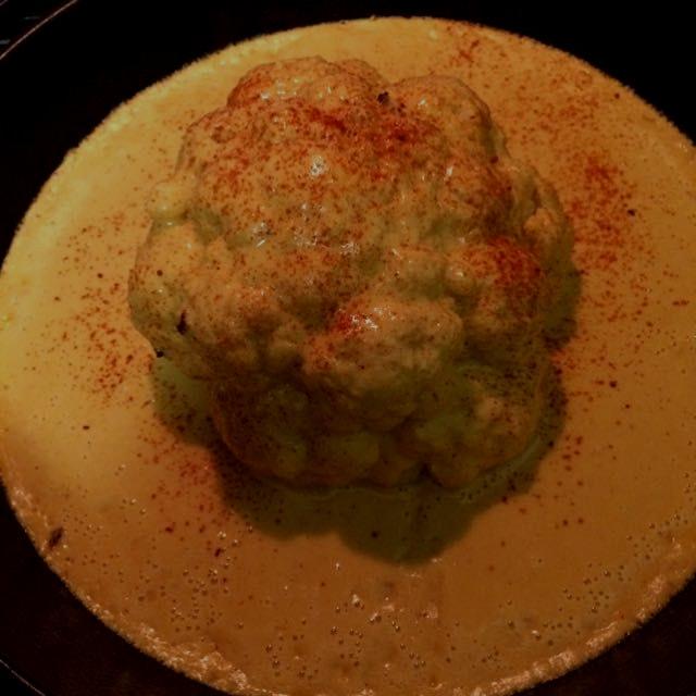 #cheesy #cauliflower #brain #noms #foodie #sundaydinner #nyc