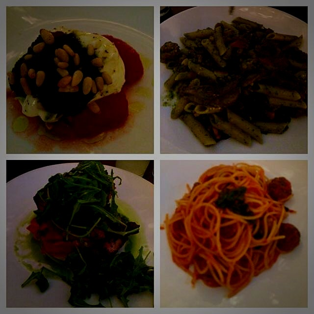 Superb Italian '@mariobatali restaurant #otto in Las Vegas! Everything I expected and more :) Mus...