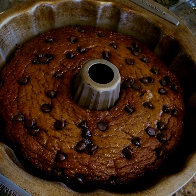 Paleo chocolate chip cake for Christmas :)