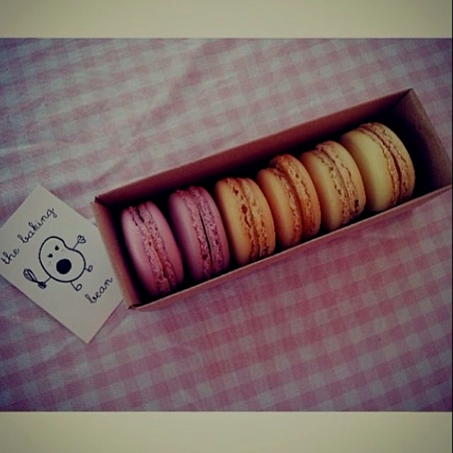 Macaroons at @TheBakingBean #regram from @thebakingbean