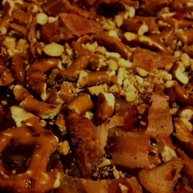 Bacon bark for dessert!