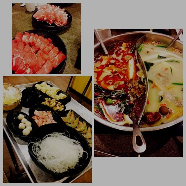 Hot pot dinner the other night! So delicious