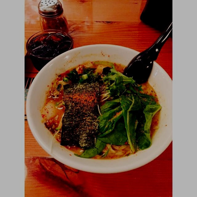 Vegan miso ramen🍜 so yummy!