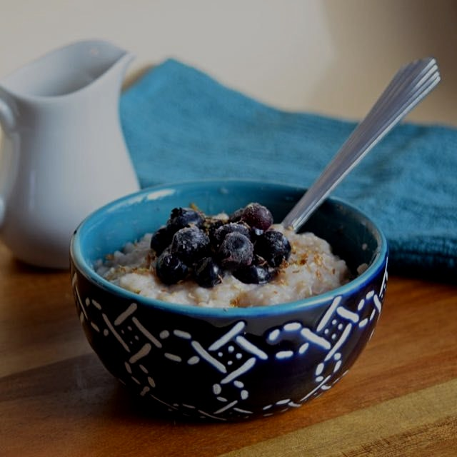 Tea Infused Creamy Buckwheat. A healthy alternative to oatmeal. Search for it on the link in my b...