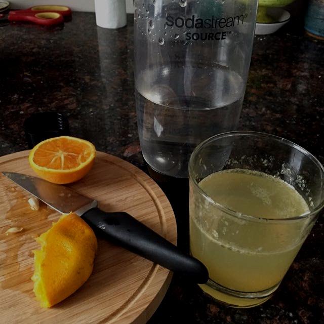 Orange soda.
