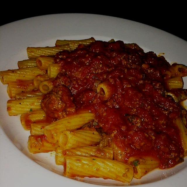 Rigatoni Bolognese from Enzo's Restaurant