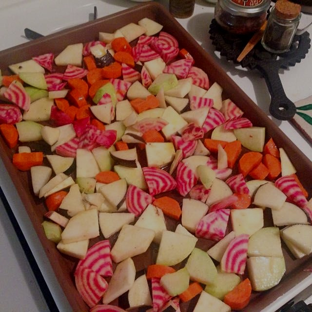 A recent recipe from Melissa Clark on NYtimes. Lentil salad with roasted root Vegetables. Plus a ...