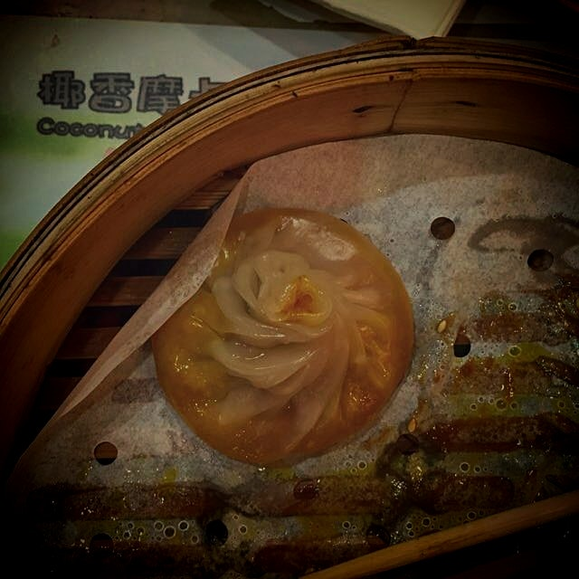 I found my Waterloo in these soup dumplings. Thinnest skin ever...I was a happy, brothy mess.