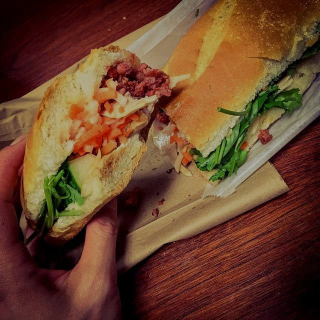 The Banh Mi sandwich: the perfect example of the blending of cultures during the French occupatio...
