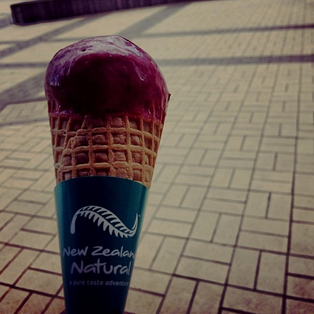 Berry sorbet. Hot day. New Zealand Natural. Refreshing.